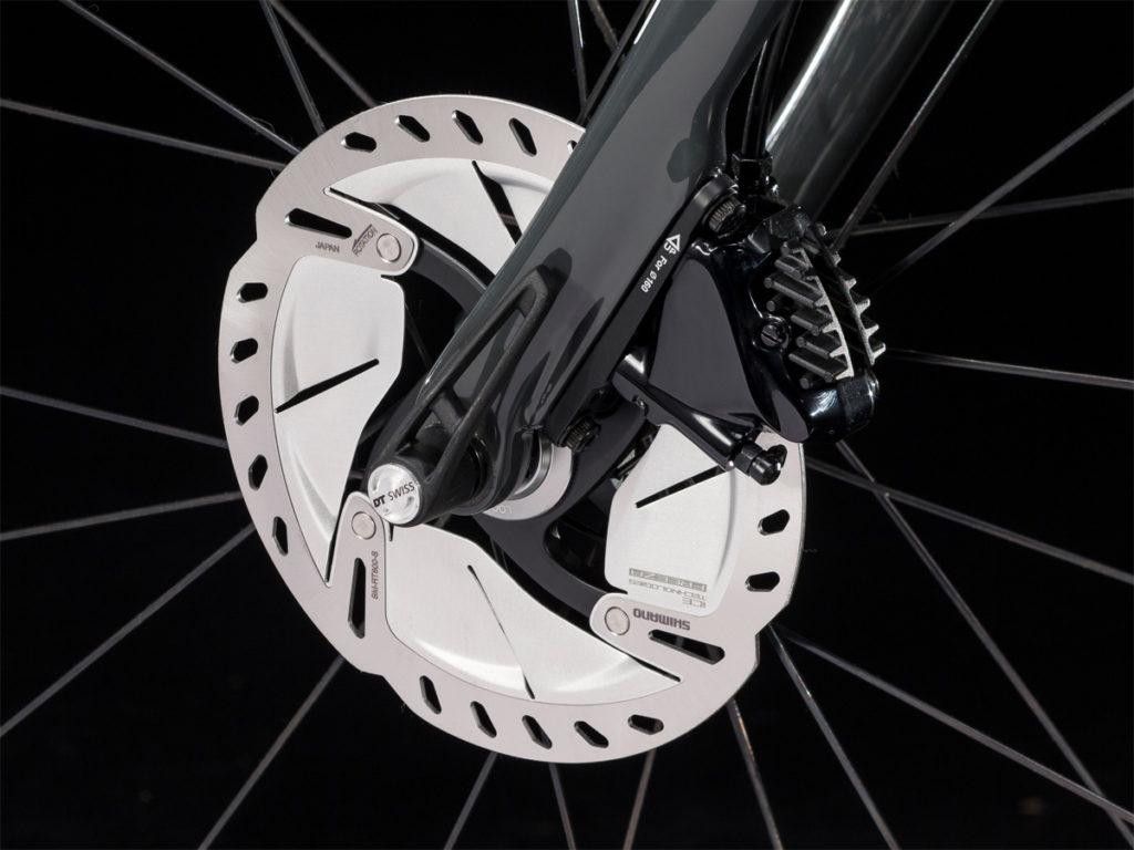 ロードバイクのディスクブレーキ