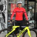 新サイクルジャージ、サイクルショーツで春用にコーディネート!